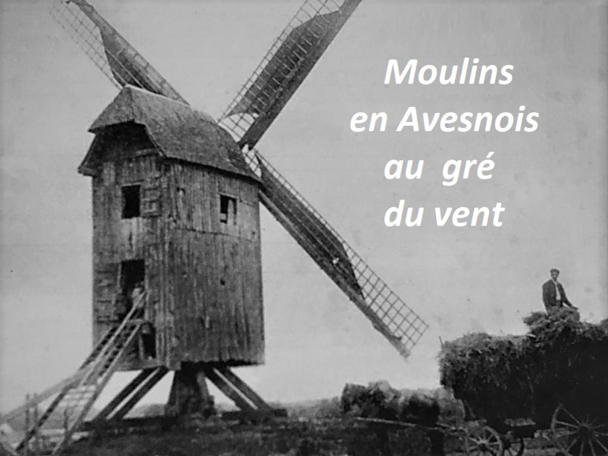 Moulins à vent en Avesnois